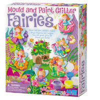 Mould and Paint Glitter Fairies