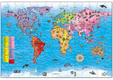 World Map Jigsaw Puzzle & Poster