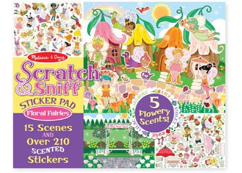 Scratch & Sniff Floral Fairies