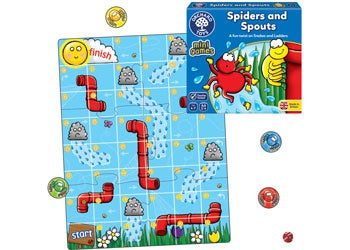 Orchard Mini Games- Spiders and Spouts