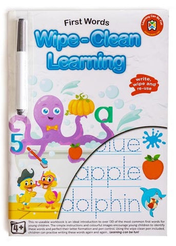 Wipe Clean Learning - First Words