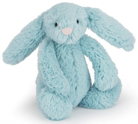 Jellycat Bashful Bunny - Aqua Small