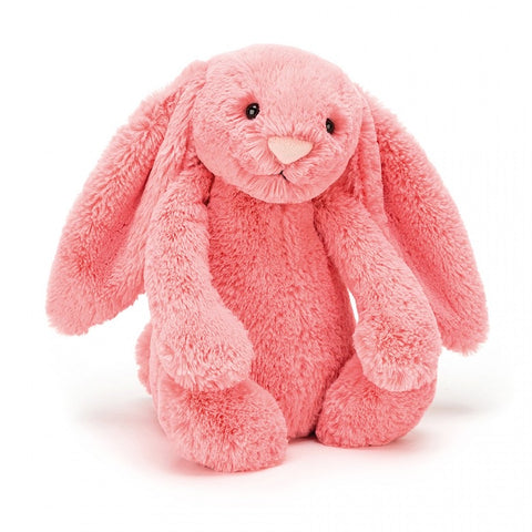 Jellycat Bashful Bunny - Small Coral