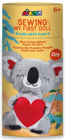 Avenir Sewing My First Doll - Koala With Heart