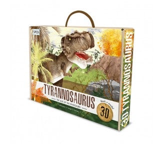 3D Age of the Dinosaurs Book+ Model Tyrannosaurus