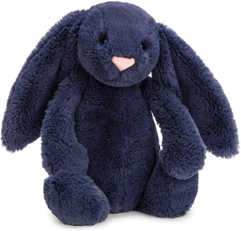 Jellycat Bashful Bunny - Navy Small