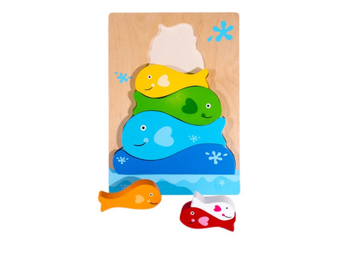 Fish Stacker Chunky Puzzle