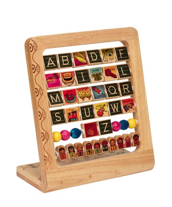 ABC Wooden Stand