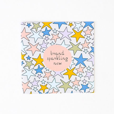 Greeting Card - brand spanking new