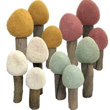 Papoose Felt Trees - Small