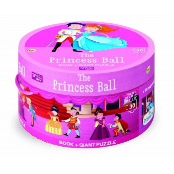 The Princess Ball Book & Puzzle