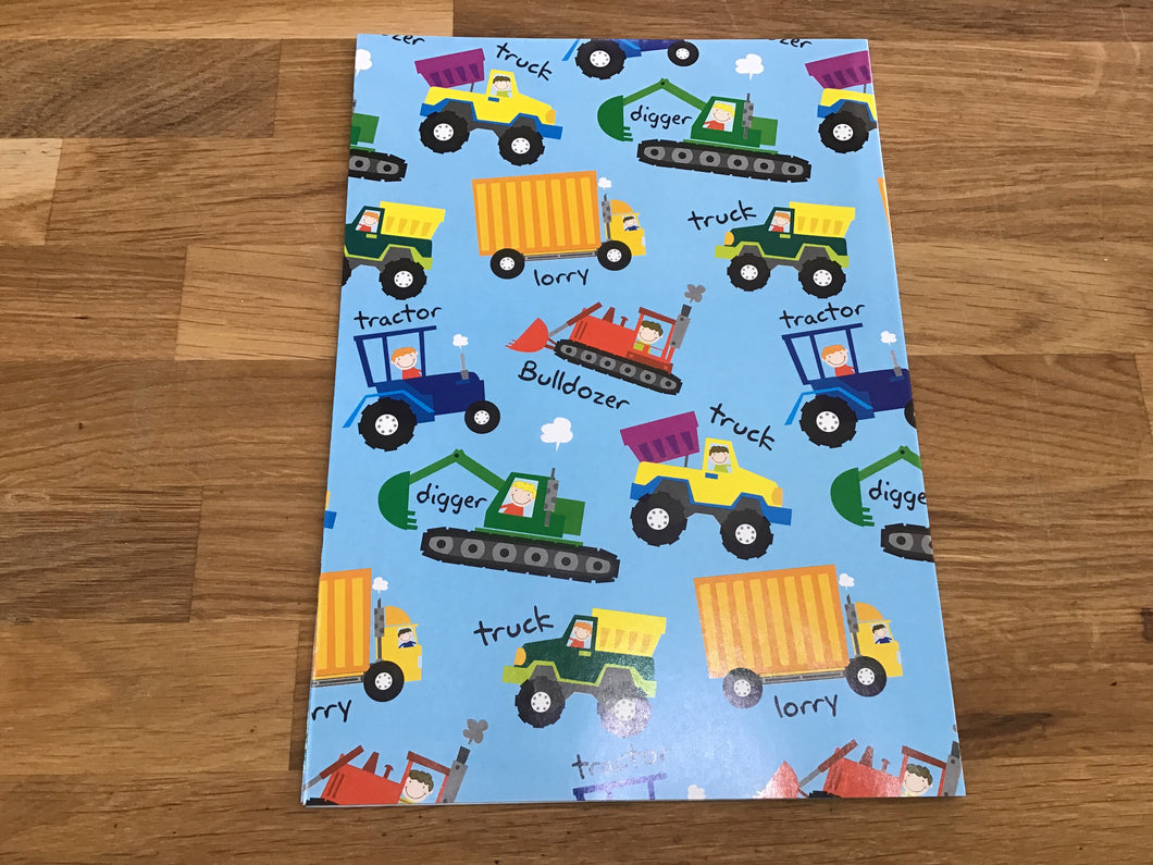 Truck Wrapping Paper
