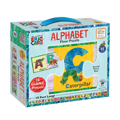 The Very Hungry Caterpillar Floor Puzzle - Alphabet