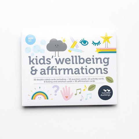 Kids' Well-being and Affirmation Cards
