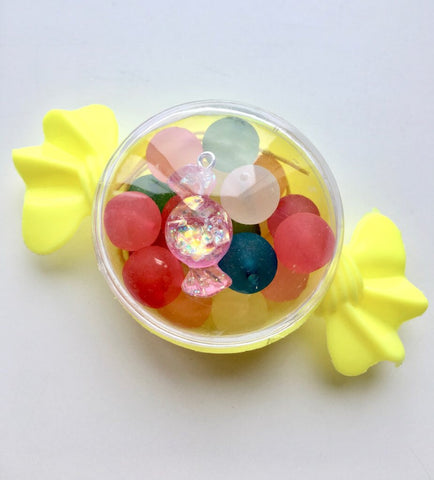 Mini Lolly Build Your Own Bracelet Yellow