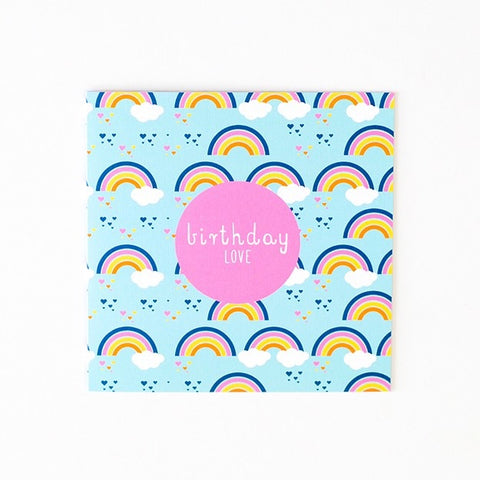 Greeting Card - Birthday Love