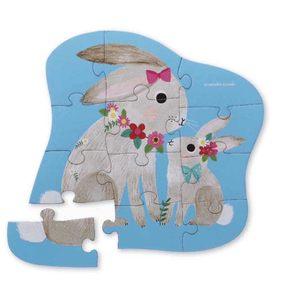 12pc Bunny Love Puzzle