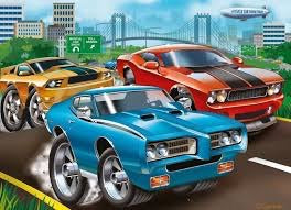 Muscle Cars 60pc Ravensburger Puzzle