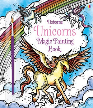Unicorns Magic Painting Book
