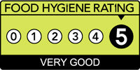 Food hygiene rating 5: Very Good