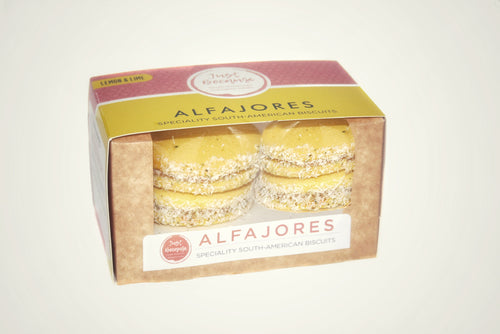 Lemon & Lime Alfajores (4 units)
