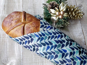 Christmas Ham Bread in Beeswax Wrap