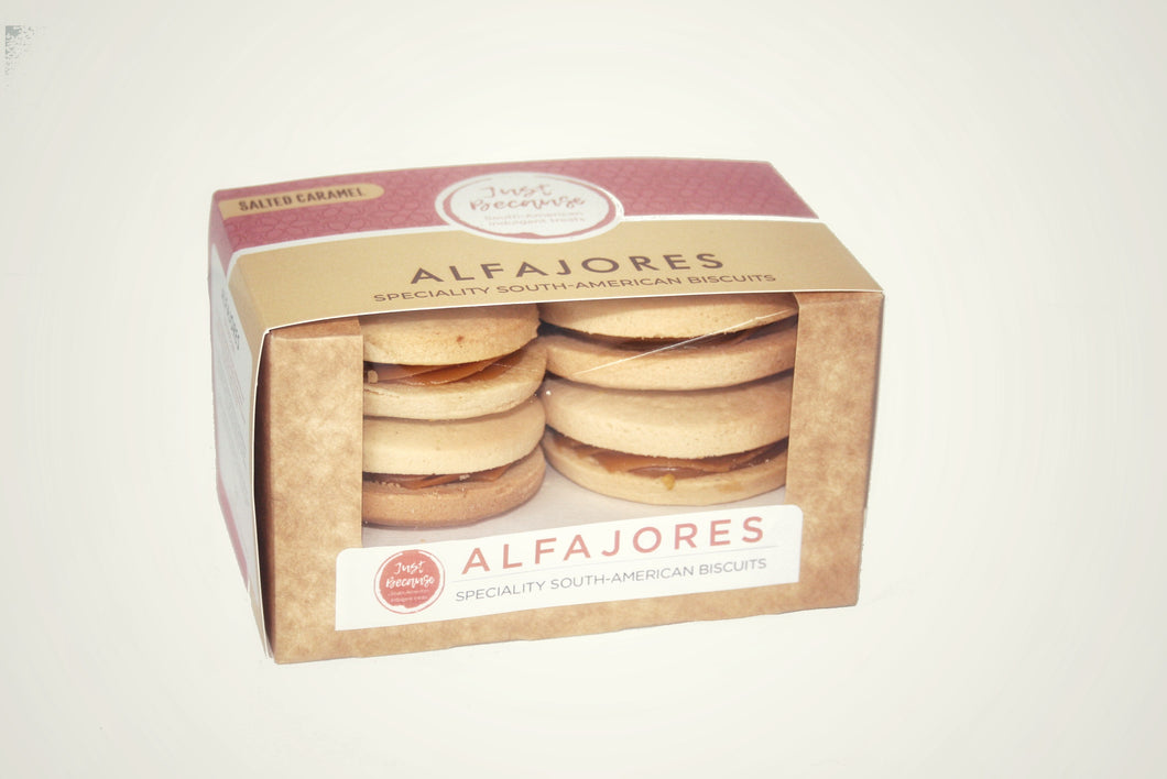 Salted Caramel Alfajores (4 units)