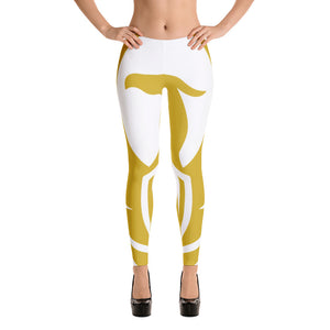 WHITE GOLD RA LEGGINGS