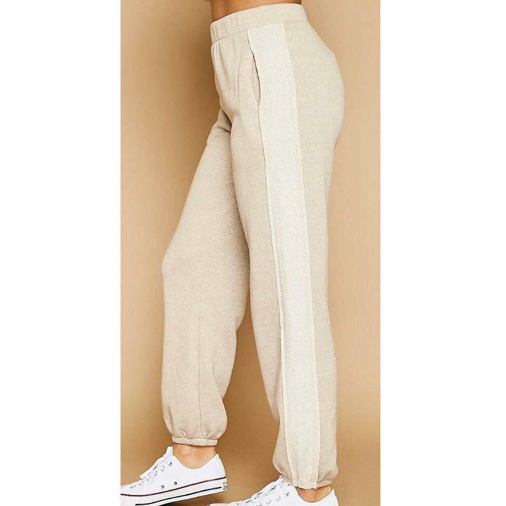 Sweat Pants with Side Band - Rockin' Sass Boutique