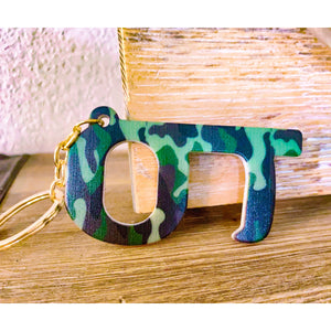 Camo Touchless Push Key