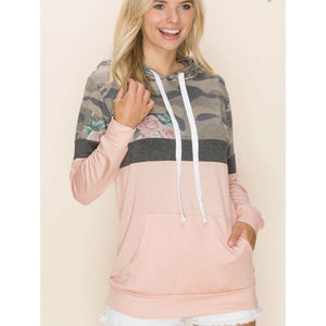 Camo Pink Pullover