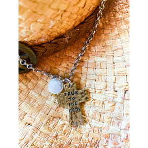 True To The Faith Necklace