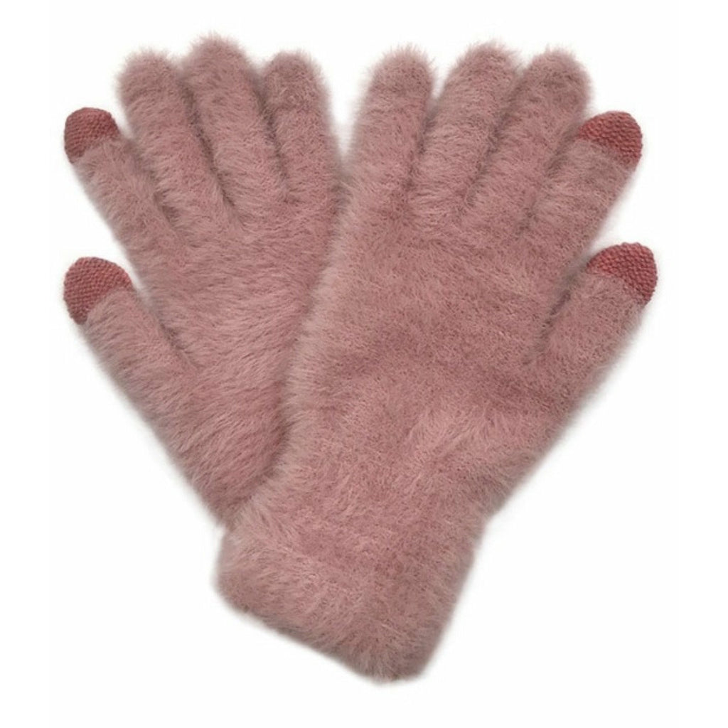 Fuzzy Touch Screen Gloves