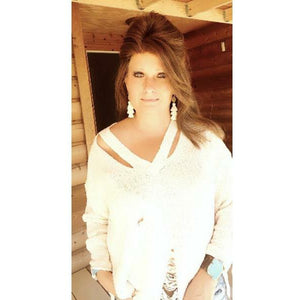 Worn Summer Sweater - Rockin' Sass Boutique