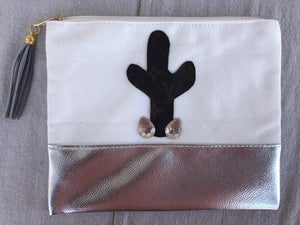 LV cactus makeup bag