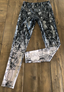 Snake ombré work out pant