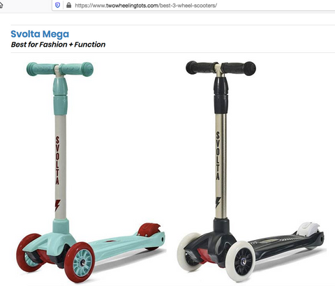 Two Wheeling Tots Scooter Review Mega Best for Fashion + Function