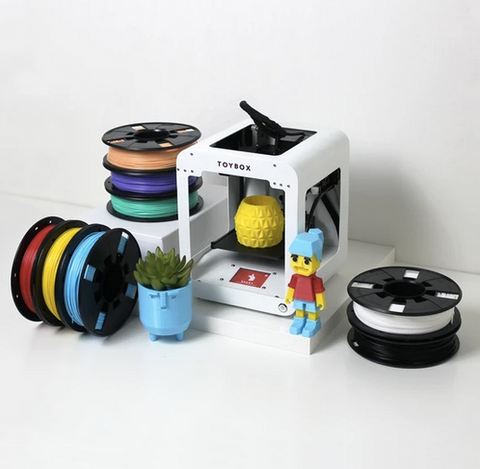 Toybox 3d printer for kids easy-to-use