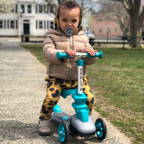 Svolta Ace 2-in-1 sit and stand scooter baby's first holiday christmas gift