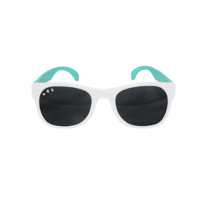 Roshambo Kids Polarized Sunglasses - 90210 Mint & White, Junior