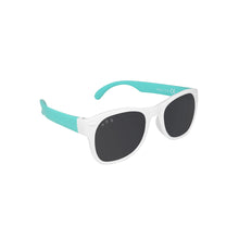 Load image into Gallery viewer, Roshambo Kids Polarized Sunglasses - 90210 Mint & White, Baby & Toddler