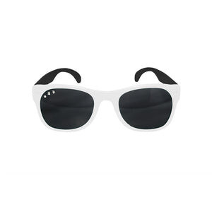Roshambo Kids Polarized Sunglasses - Free Willy Black & White, Junior