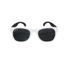 Load image into Gallery viewer, Roshambo Kids Polarized Sunglasses - Free Willy Black & White, Baby & Toddler