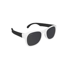 Load image into Gallery viewer, Roshambo Kids Polarized Sunglasses - Free Willy Black & White, Junior