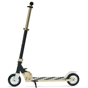"SVOLTA ""Legend"" 2-Wheel Kick Scooter - Black & Gold"