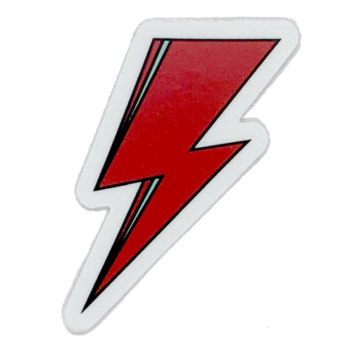 SVOLTA Red Lightning Bolt Vinyl Sticker