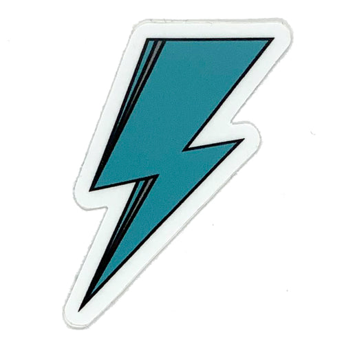 SVOLTA Teal Lightning Bolt Vinyl Sticker