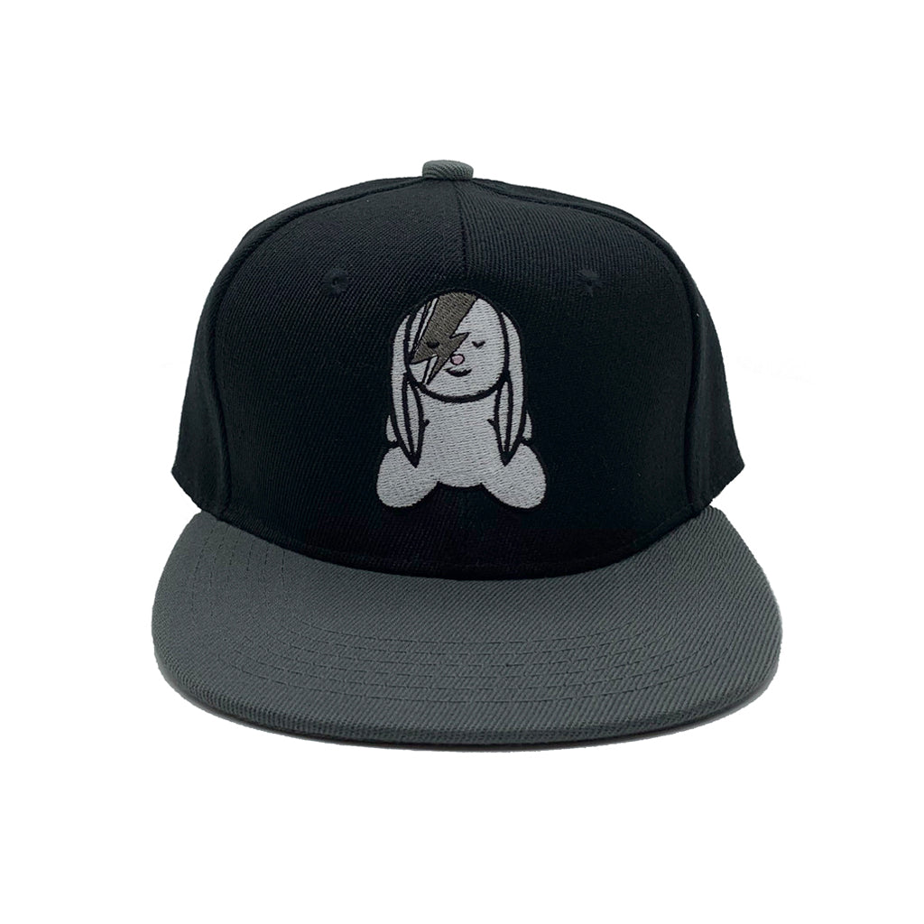 SVOLTA Black & Grey Bunny Kids Snapback Hat