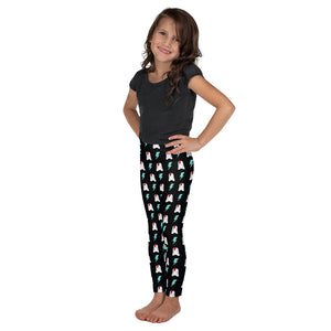 SVOLTA Toddler / Kids Black Leggings - Bunnies & Bolts, 2T-7