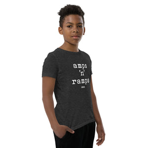 SVOLTA Youth / Kids Short Sleeve T-Shirt - Amps 'n' Ramps, S-XL